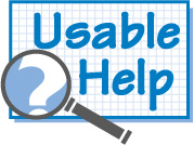Usable Help - Real help in real time